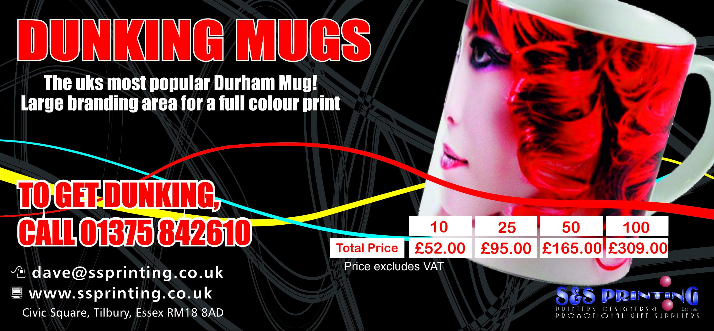 Durham Full Colour mugs